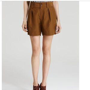 Marc x Marc Jacobs Silk-Linen High Waist Shorts 4